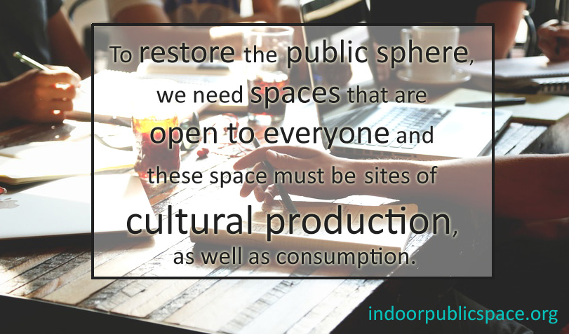 Restore the Public Sphere